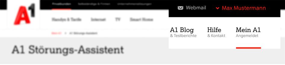 Autologin Beispiel auf A1.net