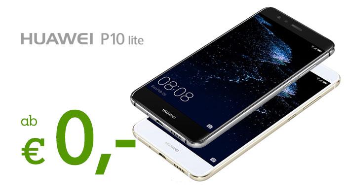 Huawei P10 Lite im A1 Xcite L um € 0,-