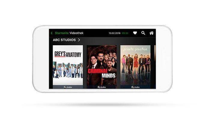 A1 NOW Videothek - österreichische Serien auf Abruf