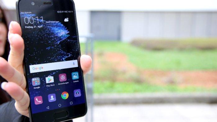 Huawei P10 im A1 Blog Test