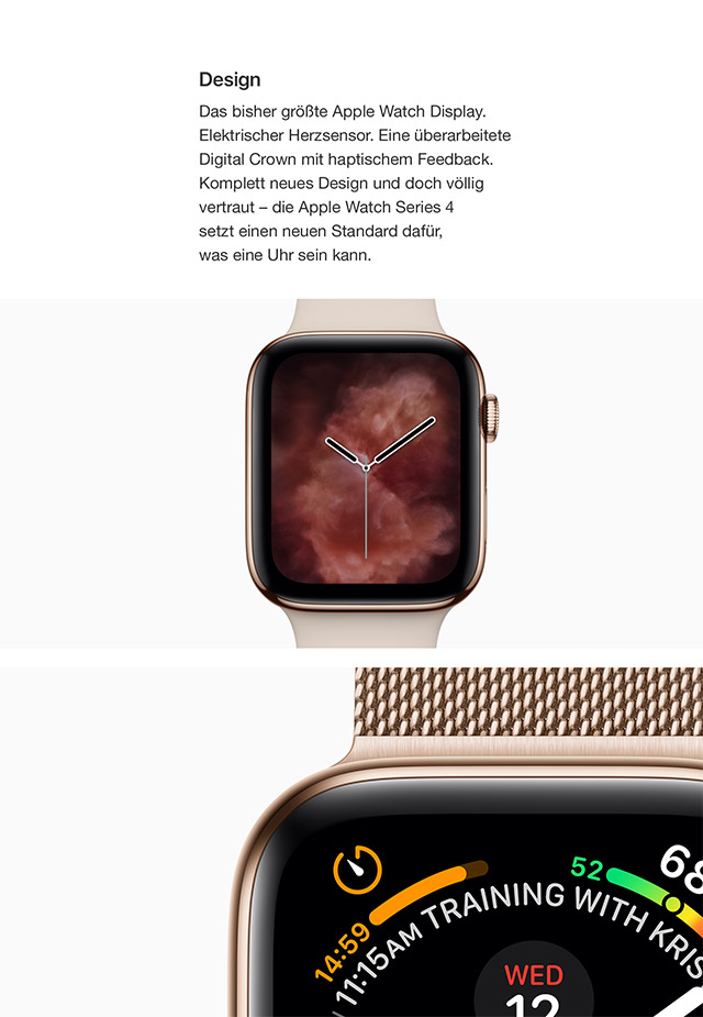 apple watch series 4 jetzt bei a1. Black Bedroom Furniture Sets. Home Design Ideas
