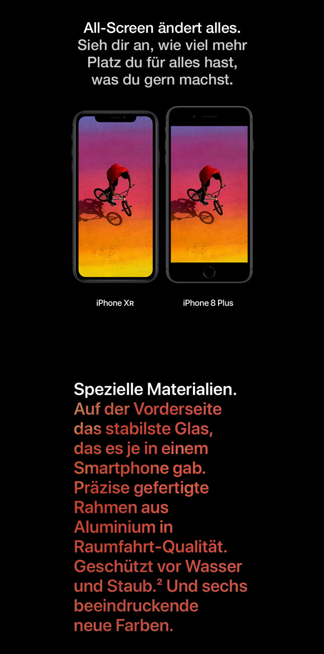 All-Screen ändert alles