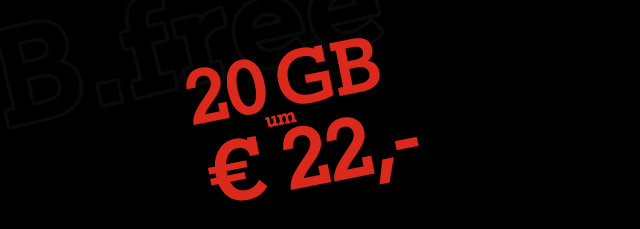 20 GB um € 22,-