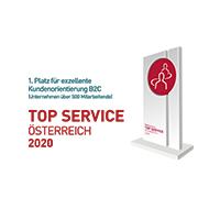 Top Service-Auszeichnung Österreich 2020