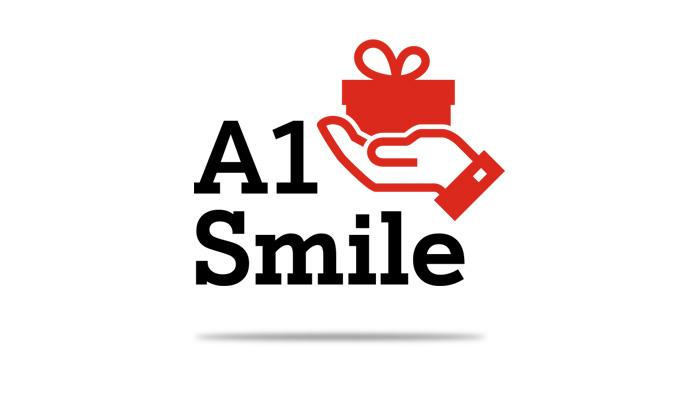 A1 Smile Geschenk Symbol