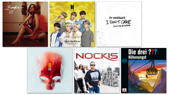 A1 Xplore Music diverse Cover