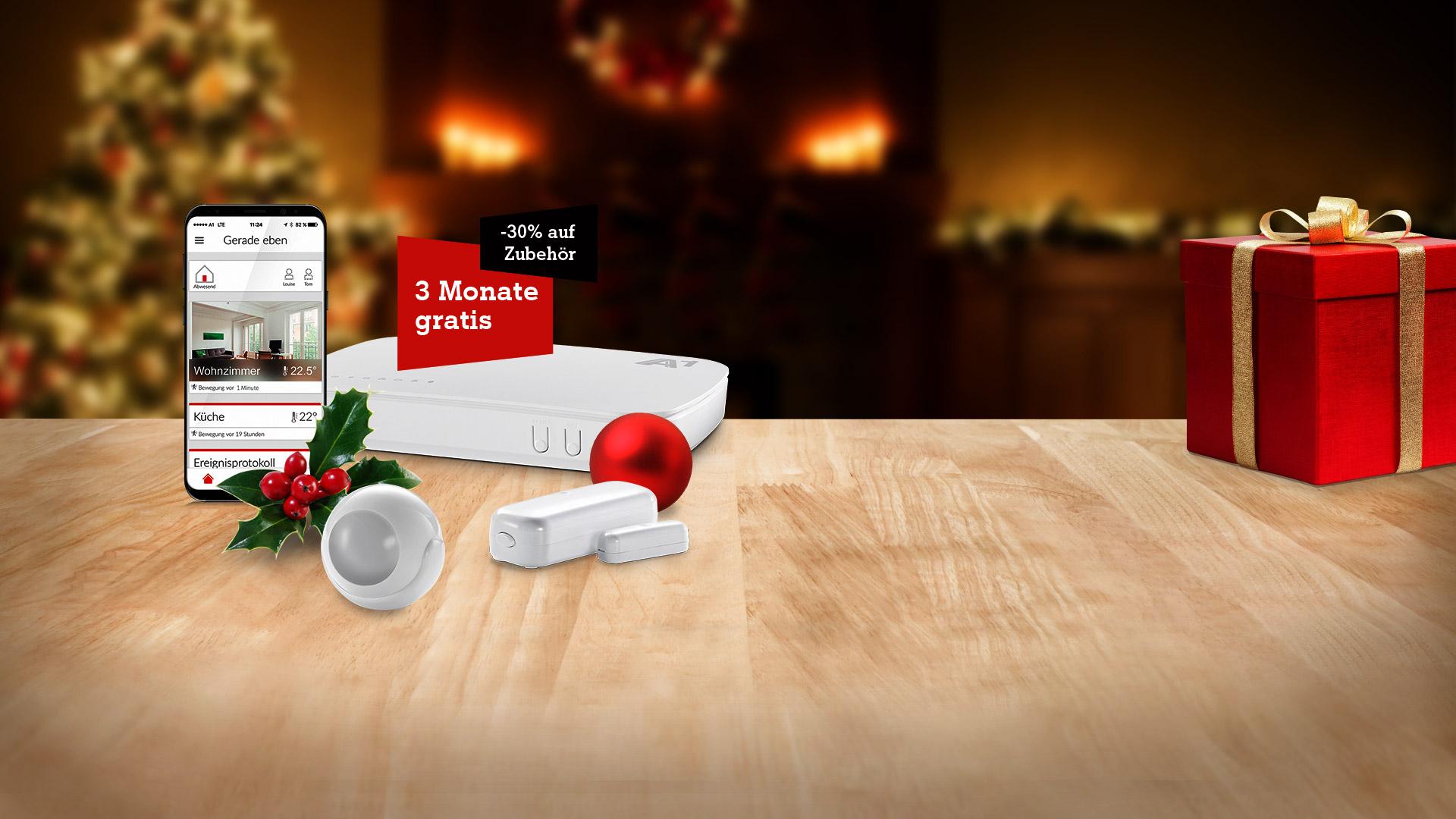 Das A1 Smart Home Weihnachten