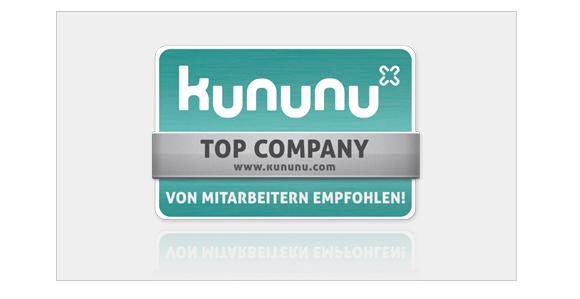 Kununu Top Company von Mitarbeitern empfohlen!
