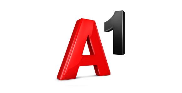 A1-Logo im ländlichen Design