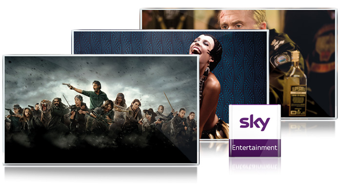 Sky Entertainment bei A1