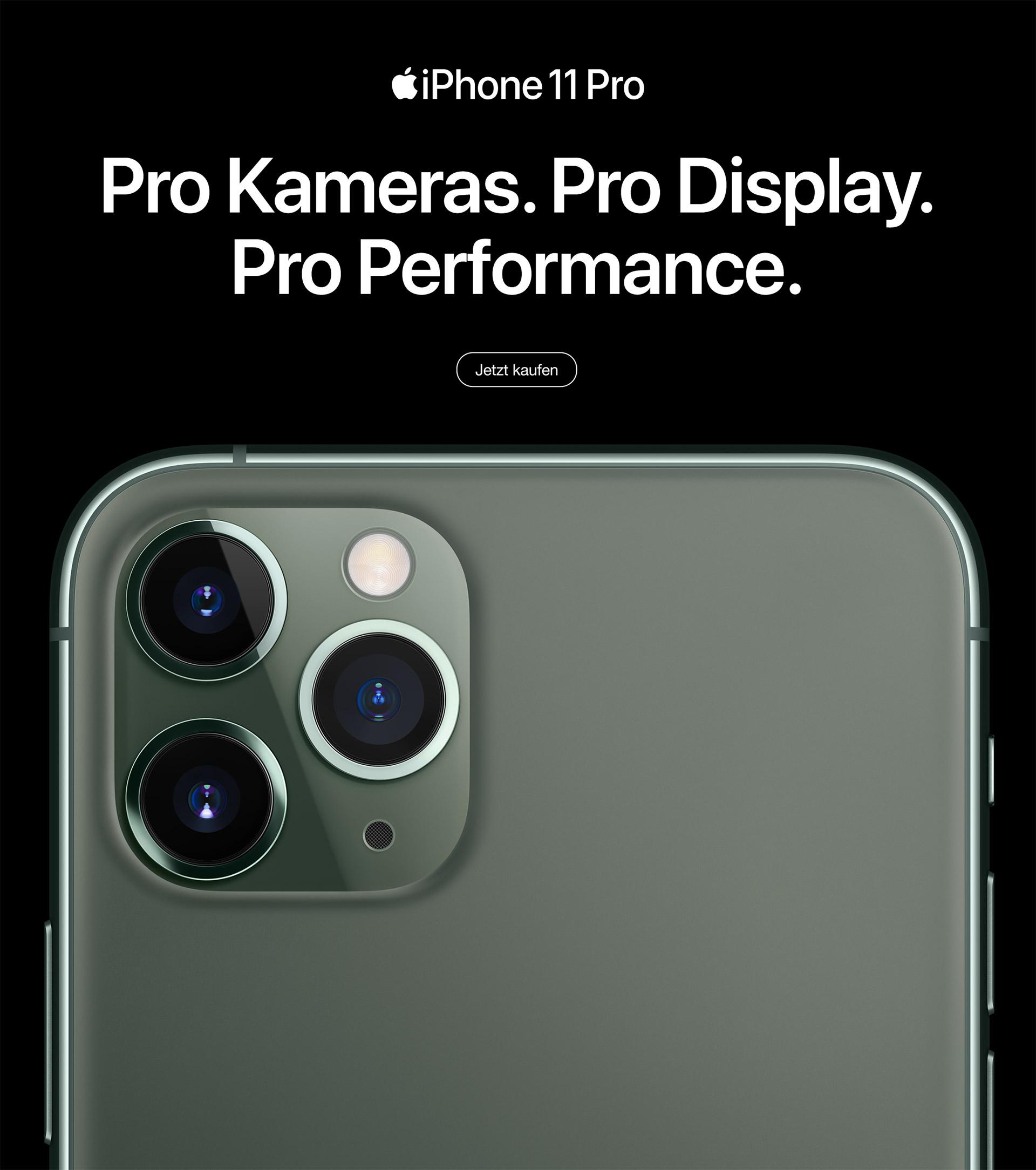iPhone 11 Pro und iPhone 11 Pro Max