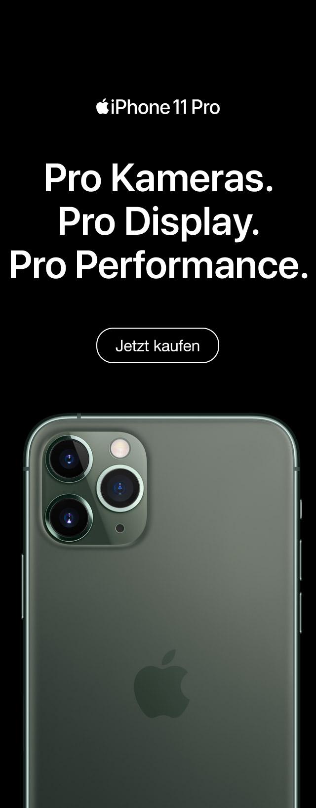 iPhone 11 Pro und iPhone Pro 11 Max