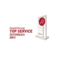 Top Service-Auszeichnung Österreich 2019