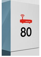 80 Mbit/s und Premium Modem