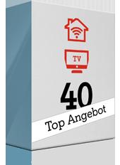 Top-Angebot: TV Kombi 40 Mbit/s