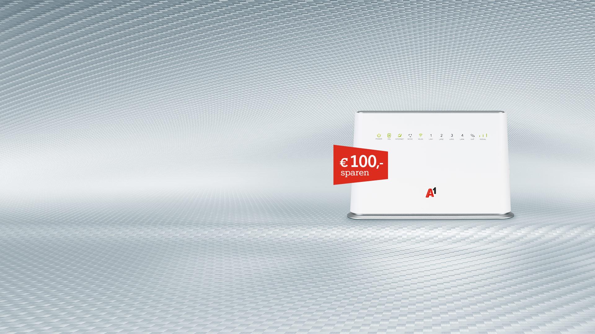 Internet für zuhause - € 100,- sparen