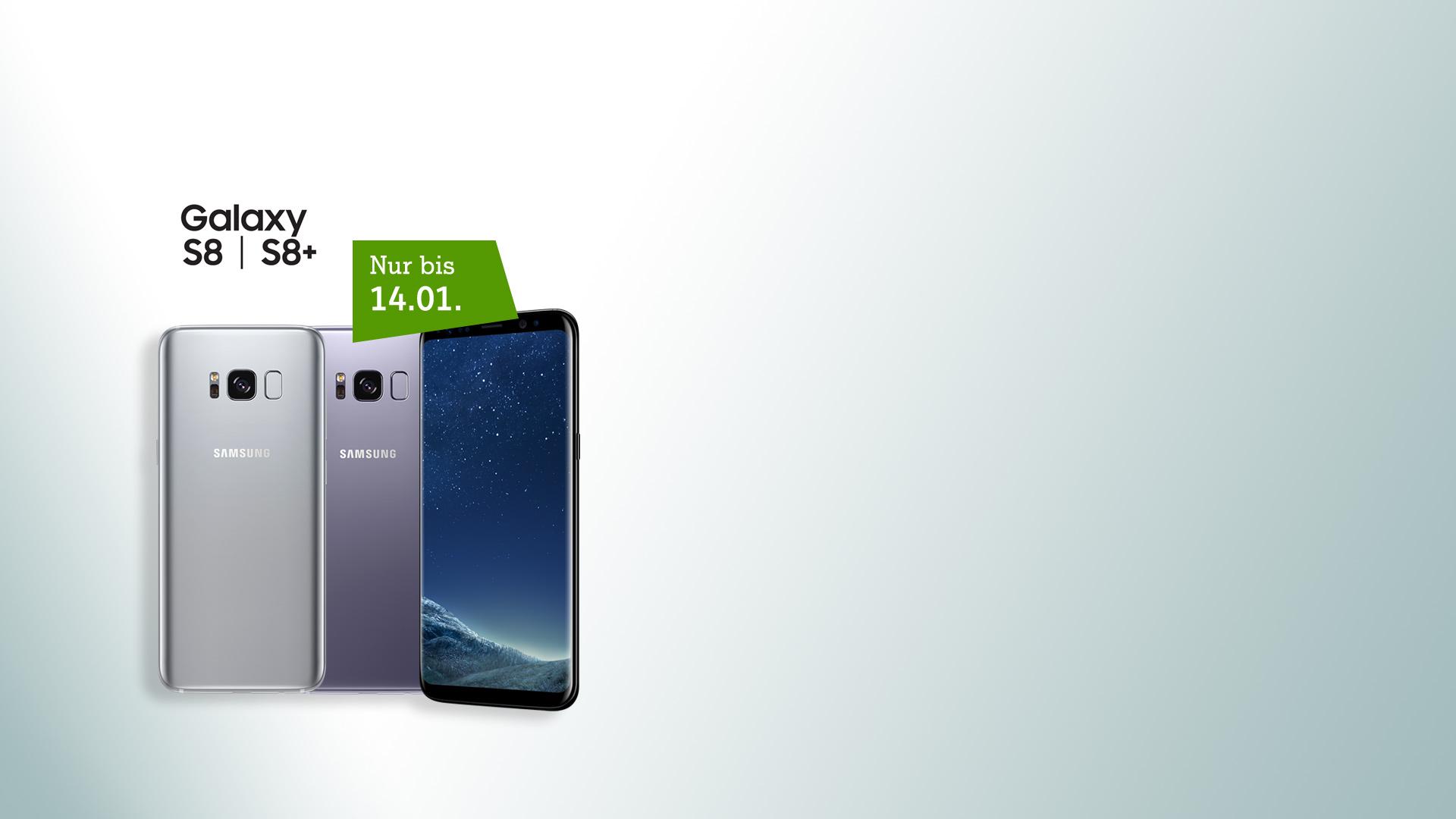 Samsung Galaxy S8 - ab jetzt in mehr Farben verfügbar!