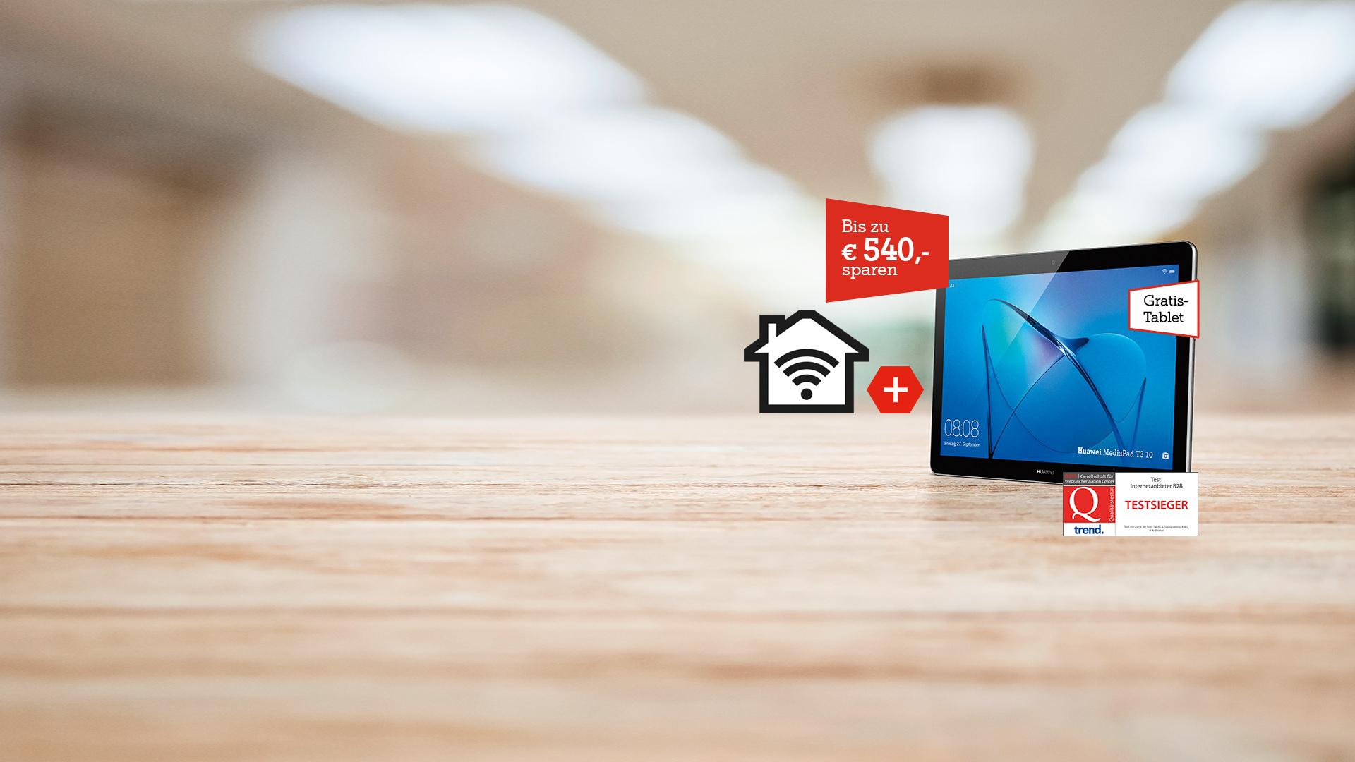 A1 Business Internet + Gratis Tablet
