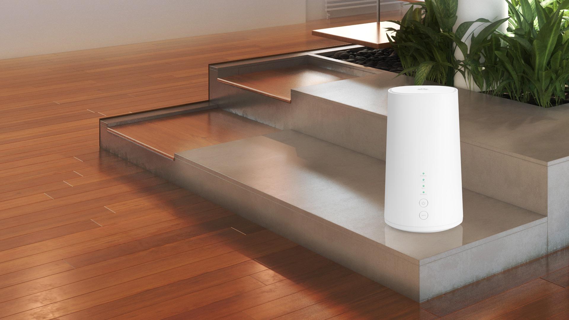 Net Cube Plus im Wohnzimmer