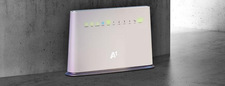 A1 Festnetz-Internet