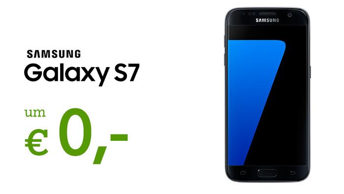 Samsung Galaxy S7 um € 0,- im A1 Go! M