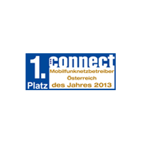 Connect Award 1. Platz 2013
