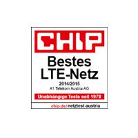 Chip Award bestes LTE-Netz 2014/15