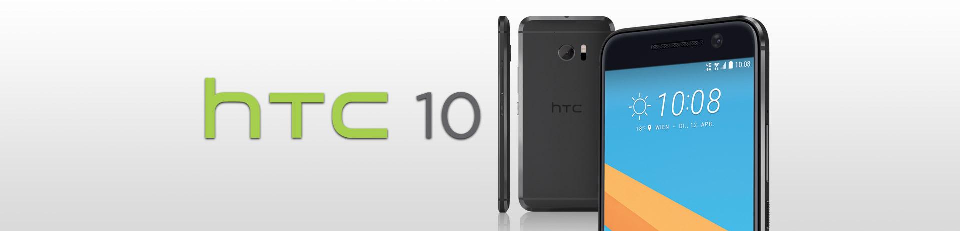HTC 10 aus allen Blickwinkeln