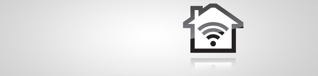 Festnetz-Internet Icon auf grauem Hintergrund