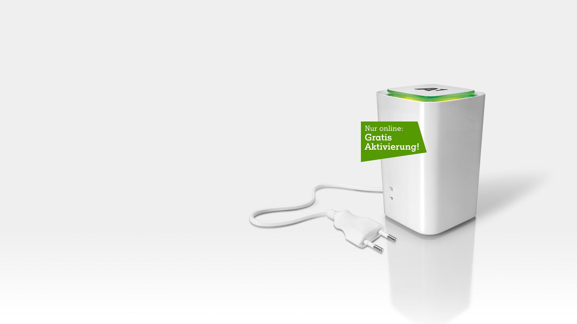 A1 Net Cube und Störer mit online Gratis Aktivierung