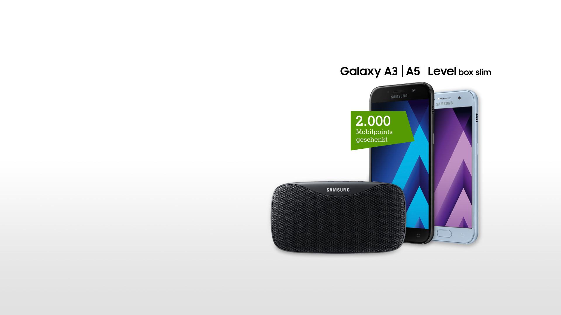Samsung Galaxy A3 2017 und A5 2017 mit Level box slim