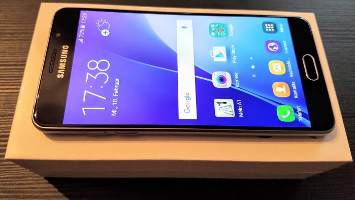 Samsung Galaxy A5 im A1 Blog Test
