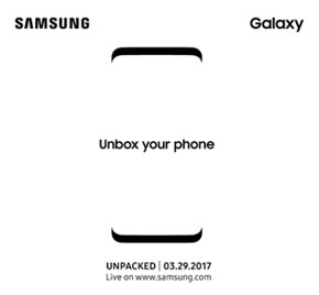Outlines des neuen Samsung Galaxy S8