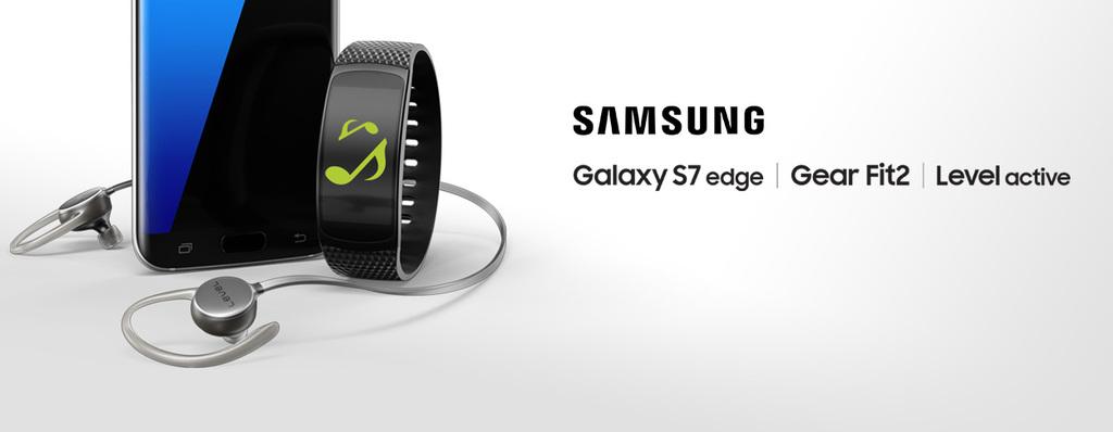 Samsung Power Pack - gratis Gear Fit2 + Level Active Kopfhörer bei Bestellung eines Galaxy S7 oder S7 edge